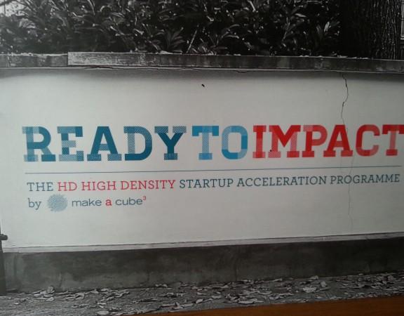 Ready to Impact, call di Make a Cube