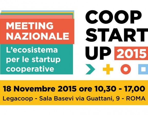 Coopstartup meeting nazionale